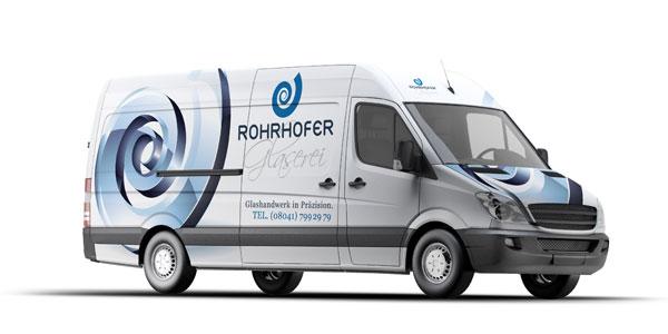 Fahrzeugbeschriftung-Rohrhofer