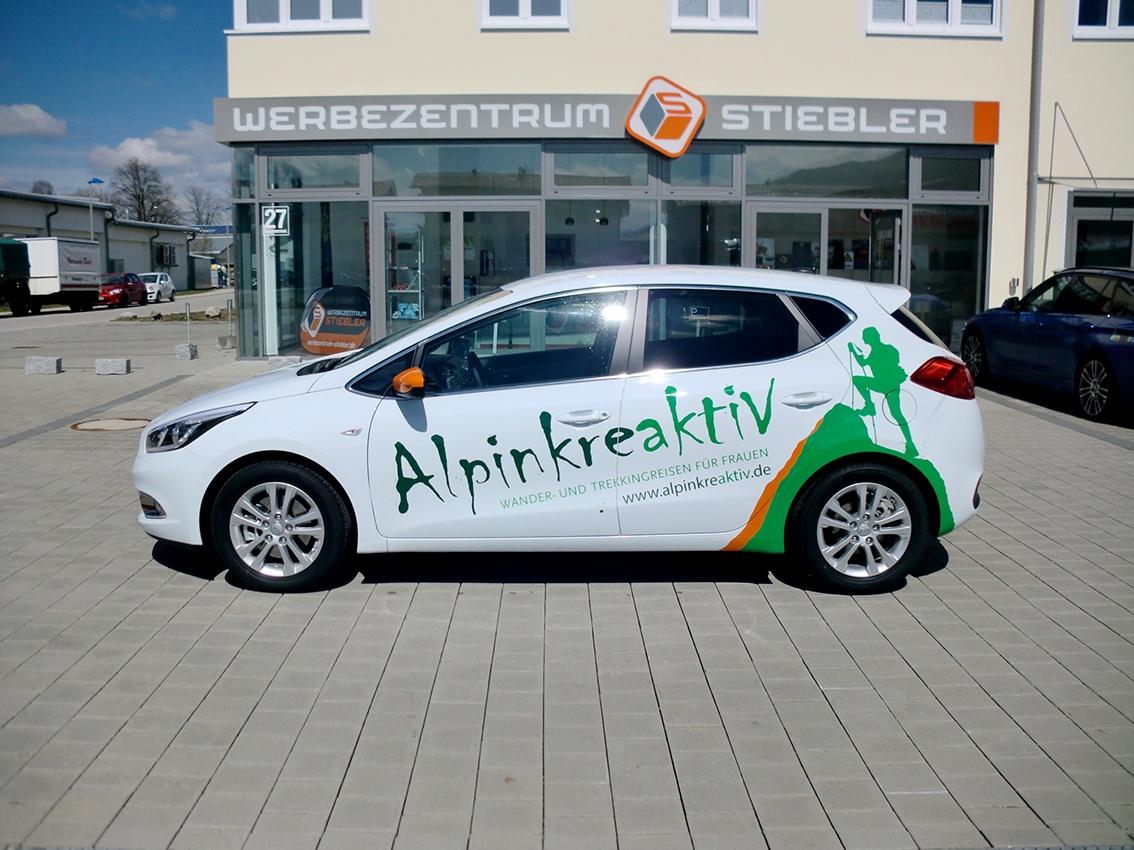 Autofolierung-Carbonfolie
