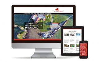 Webdesign für Unternehmer in Bad-Tölz | Bagger Matheis