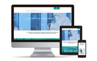 Webseite erstellt mit Wordpress für Ingenieurbüro am Kochelsee